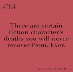 Fred Weasley. Hedwig. Lupin and Tonks. Dobby. Dumbledore. Sirius.