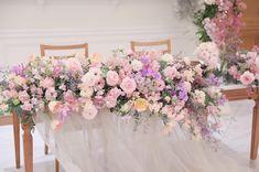 Gray Weddings, Bridesmaid Dresses, Wedding Dresses, Spring Wedding, Pink Flowers, Decoration, Lavender, Wedding Planning, Floral Wreath