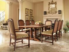 Estancia indoor/outdoor dining collection from Century Furniture and Richard Frinier