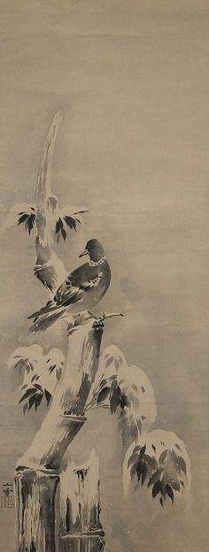 KANO Sansetsu 狩野山雪 (1590-1651), Japan
