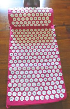 Prosource Acupressure Mat with Pillow Set - Back Pain Therapy Limited Quantity #prosource