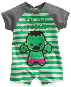 Nannette Baby Bodysuit, Baby Boys Marvel Romper - Kids Baby Boy (0-24 months) - Macys