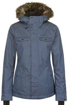 Available in Powder White and Sunrise Blue  Available in Sizes Extra Small, Small, medium, Large and Extra Small  Fashionistas will love the women's snow Seraphine jacket. The fake-fur lined hood, polka dot print and interesting detail make it a stand-out on the slopes. 10K/10K waterproofing/breathability, and Thinsulate™ insulation mean it's ready for action.