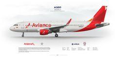 Airbus A320 Avianca N562AV | www.aviaposter.com | Aleksey Rubtsov | Flickr