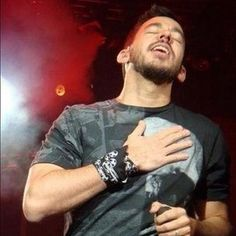 MIKE SHINODA This is what I look like every time I hear U sing honey...no lie.