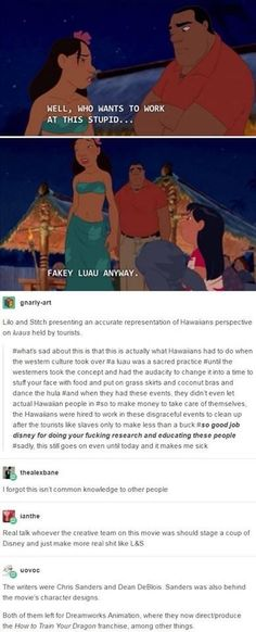In case you were wondering where the Lilo and Stitch team went, they went to DreamWorks after Disney shut them down. Disney Pixar, Disney Facts, Disney Memes, Disney And Dreamworks, Disney Animation, Disney Love, Disney Magic, Disney Stuff, Disney Channel