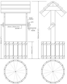 Build a Wishing Well Plans