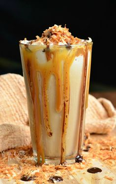 Samoas Frozen Coffee