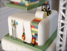 lego construction site cake - Google Search