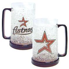 Houston Astros MLB Crystal Freezer Mug xyz