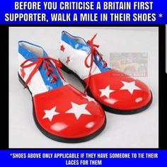 Before you judge Trump, walk a mile in his shoes. Baby Ruth Bars, Clown Shoes, Walk A Mile, Only Fashion, Just In Case, Donald Trump, Red And White, Oxford Shoes, Dress Shoes