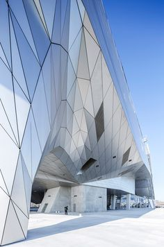 coop himmelb(l)au presents new images of musée des confluences in lyon