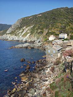 Region du Capicorsu - Pino - Marine de Scalo. C'est une minuscule plage de…