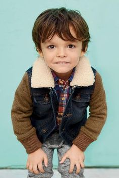 Buy Denim Borg Collar Jacket (3mths-6yrs) online today at Next: United States of…