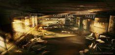 Deus Ex Human Revolution concept by Donglu Yu