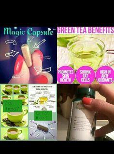 Tegreen capsules #fab