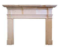 Fantastic Antique Federal Fireplace Mantel, Late 1700's to Early 1800's
