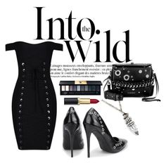 """Cold"" by vamp-tagged on Polyvore featuring moda, Anja, Alexander McQueen y John Lewis"