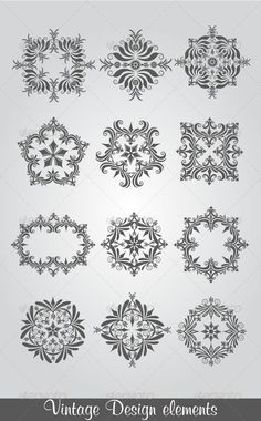 Vintage Design Elements #GraphicRiver vector vintage floral design elements on gradient background, fully editable AI & EPS files. PLEASE RATE IT AFTER REVIEW AND YOU HAVE PURCHASED IT ! Created: 19May13 GraphicsFilesIncluded: JPGImage #VectorEPS #AIIllustrator Layered: No MinimumAdobeCSVersion: CS Tags: ancient #art #banner #border #corner #curve #decoration #design #elegance #element #embellishment #filigree #floral #frame #gothic #graphic #illustration #isolated #leaf #monogram #nouveau…