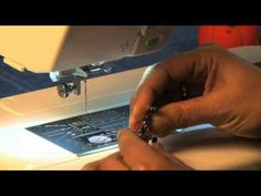 Janome Even Feed Foot Walking Foot Video Sewing High Loft Batting - YouTube