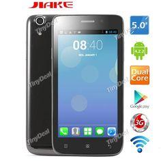 "(JIAKE) C2000 5.0"" Screen MTK6572 2-Core Android 4.2.2 Unlocked Smart Phone 5MP CAM 512MB RAM 4GB ROM 3G WiFi P05-JKC2 http://www.tinydeal.com/jiake-c2000-50-px250pz-p-123670.html"