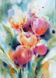 Tulips by Yvonne Joyner