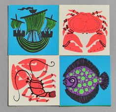 love the imagery - Kenneth Townsend cards for 'Remember Remember' by Galt by robmcrorie, via Flickr