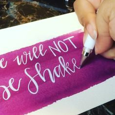 And here is the video to go with #tbcalligraphy_washes #letteritmarch The pen being used is a Signo Uniball in white ink!!! #handmade #handwriting #handwritten #handlettered #handlettering #lettering #calligraphy #moderncalligraphy #calligraphyvideo #brush #brushes #fauxcalligraphy