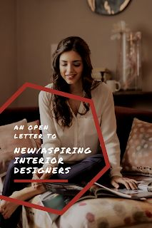 Open Letter to New/Aspiring Interior Designers What Is Interior Design, Open Letter, Design Process, Sick, Designers, Lettering, Calligraphy, Letters, Engineering Design Process