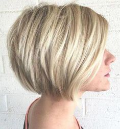Stacked Haircuts for Thin Hair 121988 Stacked Hairstyles for Medium Length Hair Luxury 60 Best Short Bob - Hairstyle ideas Bob Haircut For Fine Hair, Bob Hairstyles For Fine Hair, Haircuts For Fine Hair, Hairstyles Haircuts, Haircut Bob, Classic Bob Haircut, Scene Haircuts, Celebrity Hairstyles, Short Stacked Bob Haircuts