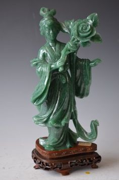 Jade figure