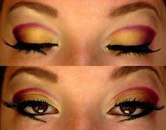 beautiful sunrise eyeshadow