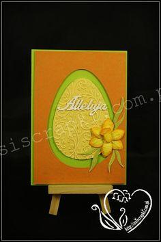 Kartka Wielkanocna #eastercard #asiscrapki