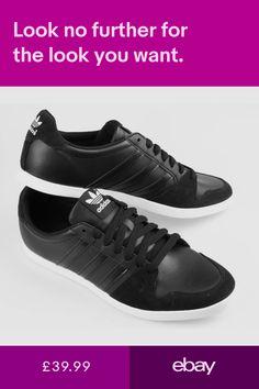 promo code 49125 30ef3 Mens adidas Originals Adilago Low Trainers In Black