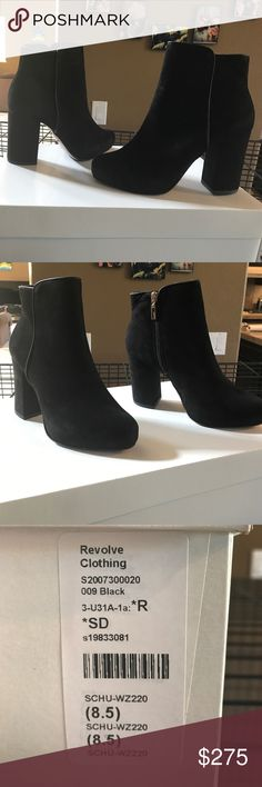 NWT! Schultz Cibby Bootie Brand-new in the box Schultz CB booty in black. They say size 8 1/2 but they fit like a 7 1/2. Unfortunately they are not return a bowl and I would like to get at least what I've paid for them back. Trades. Are considered based on items being offered. Schultz Shoes Ankle Boots & Booties
