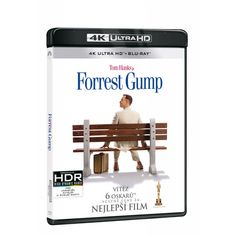 Blu-ray Forrest Gump, UHD + BD, CZ dabing | Elpéčko - Predaj vinylových LP platní, hudobných CD a Blu-ray filmov Forrest Gump