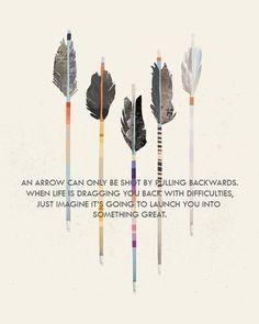 Follow your arrow wherever it points ;)