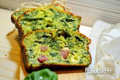 Plumcake Salato di Spinaci Feta e Salame di Fatto in casa è più buono