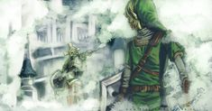 The Legend of Zelda: Twilight Princess, Link and The Hero's Shade / TP: Link and Heroes Shade by HylianDragonCatty on deviantART
