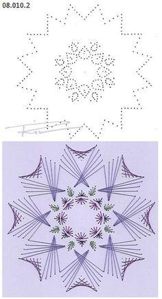 Rit Vanschoonbeek 08.010.2 borduren op papier