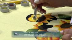 Mulher.com 20/03/2014 Eliana Rolim - Pano de copa abelhinhas Parte 2/2