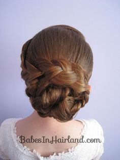 knotted up dos | Braid & Knotted Bun Updo