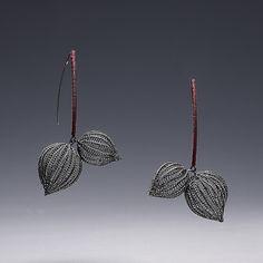 Sterling silver, silk Sowon joo studio