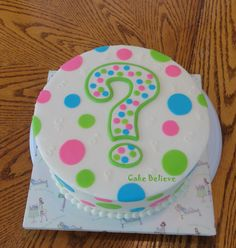 i will be doing this. there WILL be a gender reveal party when we start having babies! lol i think it would be way mor fun than just posting it on facebook or something :) -- gender reveal cakes | Gender Reveal Cake