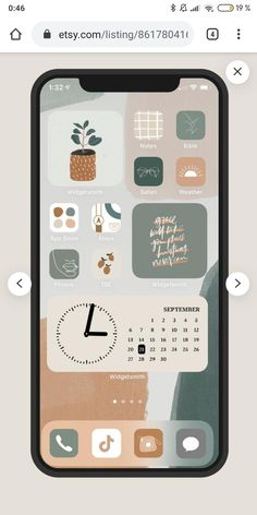 Iphone Home Screen Layout, Iphone App Layout, Iphone App Design, Iphone Wallpaper Ios, Aesthetic Iphone Wallpaper, Icones Do Iphone, Ipad Ios, New Ios, Ios App Icon