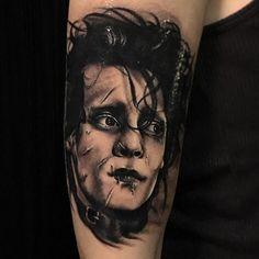 @joekworrall Movie Tattoos, Johnny Depp Movies, Fear And Loathing, The Lone Ranger, Edward Scissorhands, Chocolate Factory, Tim Burton, Alice In Wonderland, Pop Culture