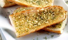 Receita de Crispes de alho - Pão - Dificuldade: Fácil - Calorias: 168 por porção