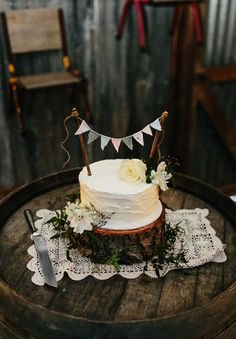 instead of a glass cake stand, a tree stand would be pretty!