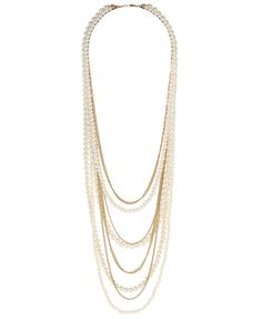 Pearlescent Chain Necklace