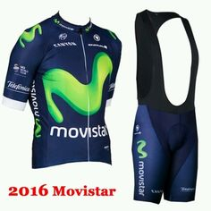 2016 #movistar #cycling team #jersey and bib shorts set uk large uk seller,  View more on the LINK: http://www.zeppy.io/product/gb/2/182243419278/